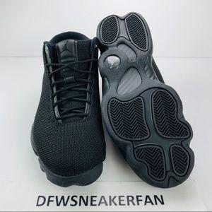 72bc3fe1cf5 Jordan Shoes - Air Jordan Horizon Triple Black Basketball Shoes